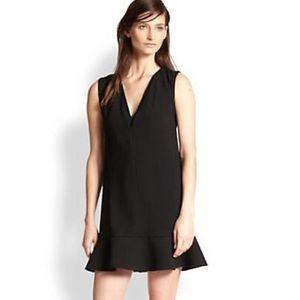 Rebecca Taylor V-neck Crepe Dress NWT